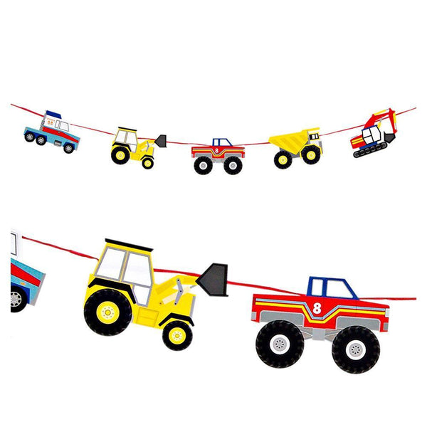 Big Rig Garland - IMAGINE Party Supplies