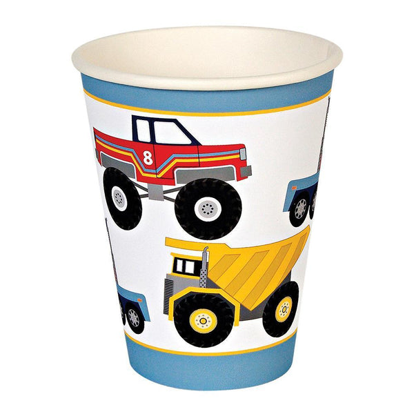 Big Rig Party Cups - IMAGINE Party Supplies