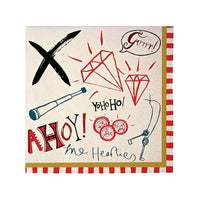 Ahoy There Pirate Napkins (small)