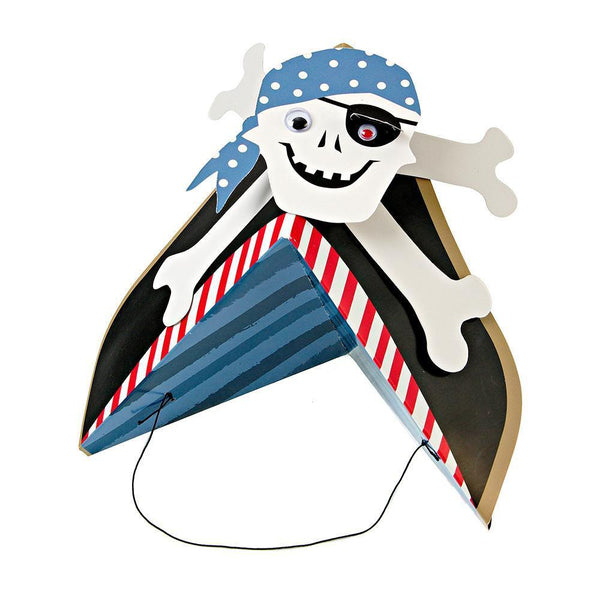 Ahoy There Pirate Party Hats - IMAGINE Party Supplies