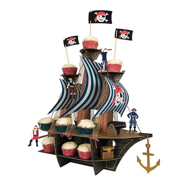 Ahoy There Pirate Ship Centerpiece - IMAGINE Party Supplies