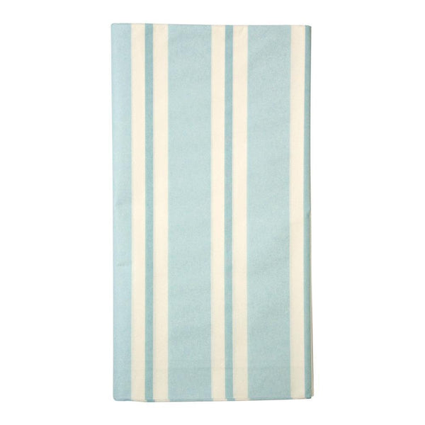 Blue Stripe Table Cloth - IMAGINE Party Supplies