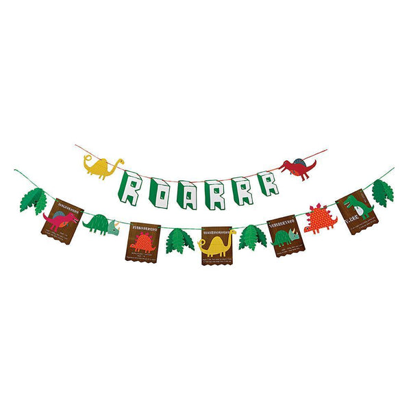 Dinosaur Party Garland - IMAGINE Party Supplies
