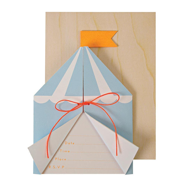 Silly Circus Invitations - IMAGINE Party Supplies