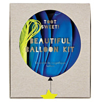 Blue Beautiful Balloon Kit
