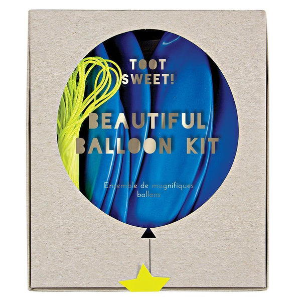 Blue Beautiful Balloon Kit - IMAGINE Party Supplies