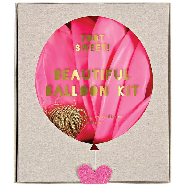 Pink Beautiful Balloon Kit - IMAGINE Party Supplies