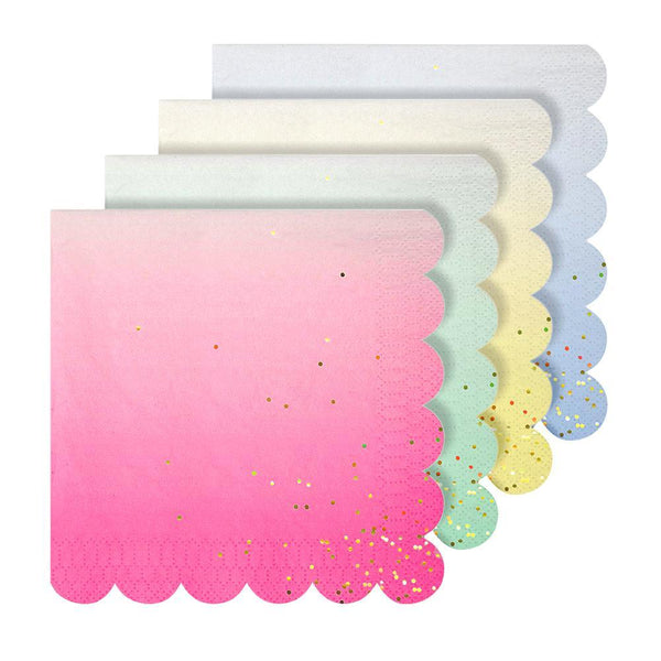 Ombre Napkins (large) - IMAGINE Party Supplies