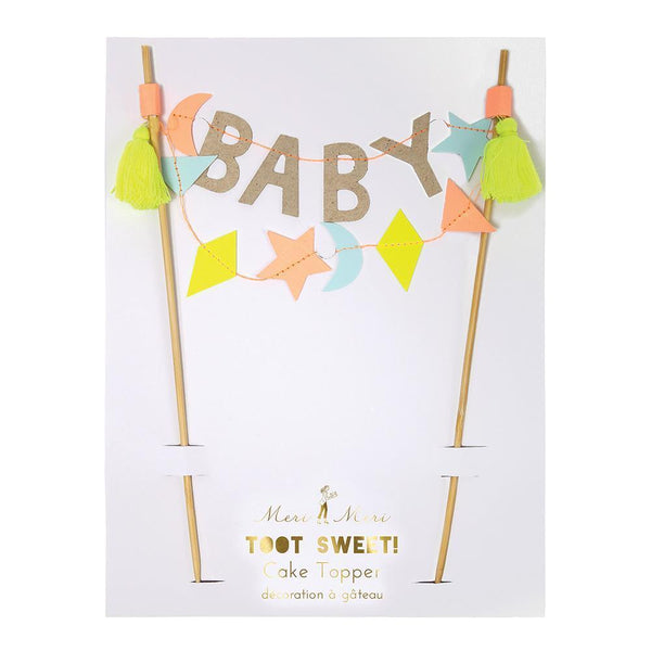 Baby Cake Topper - IMAGINE Party Supplies