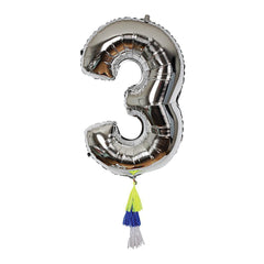 Fancy Number Balloon 3