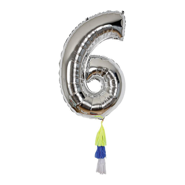 Fancy Number Balloon 6 - IMAGINE Party Supplies