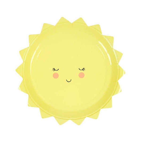 Sun Plates (small) - IMAGINE Party Supplies