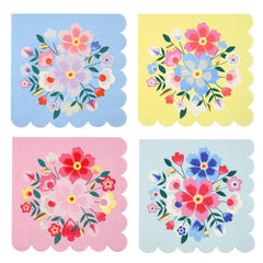 Bright Floral Napkins (large)