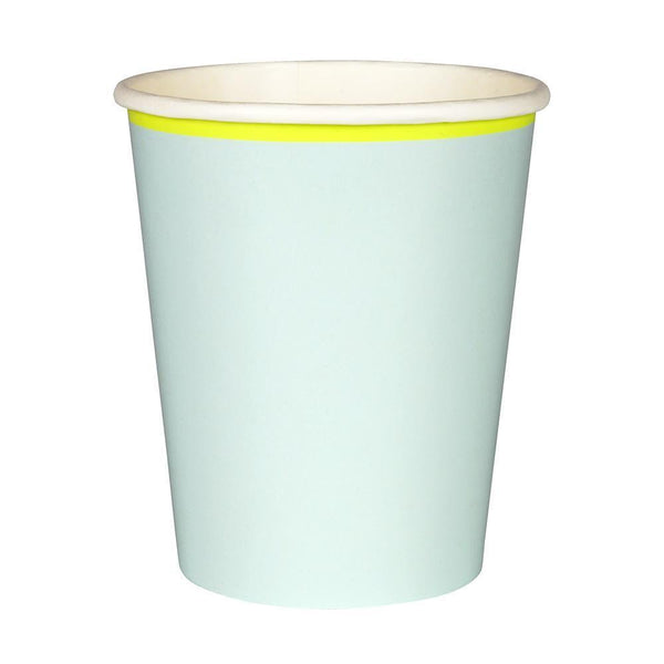 Mint Pastel Cups - IMAGINE Party Supplies