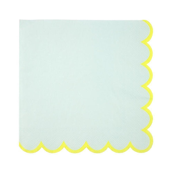 Mint Pastel Napkins (large) - IMAGINE Party Supplies