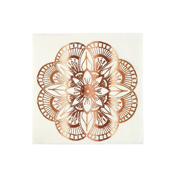 Mandala Napkins (small) - IMAGINE Party Supplies
