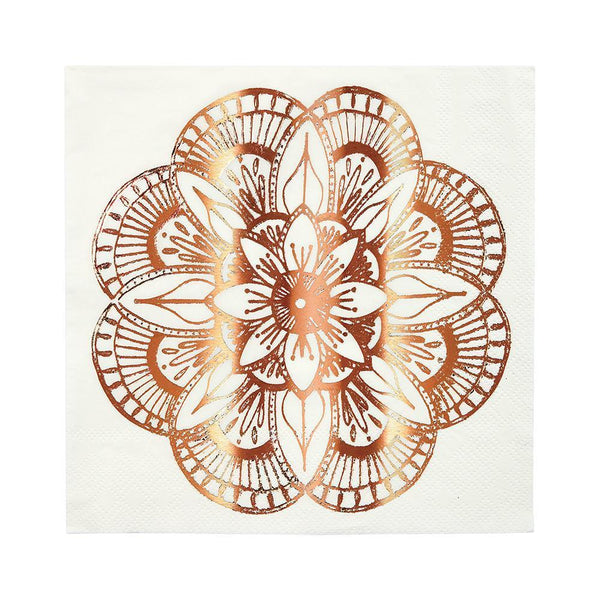 Mandala Napkins (large) - IMAGINE Party Supplies