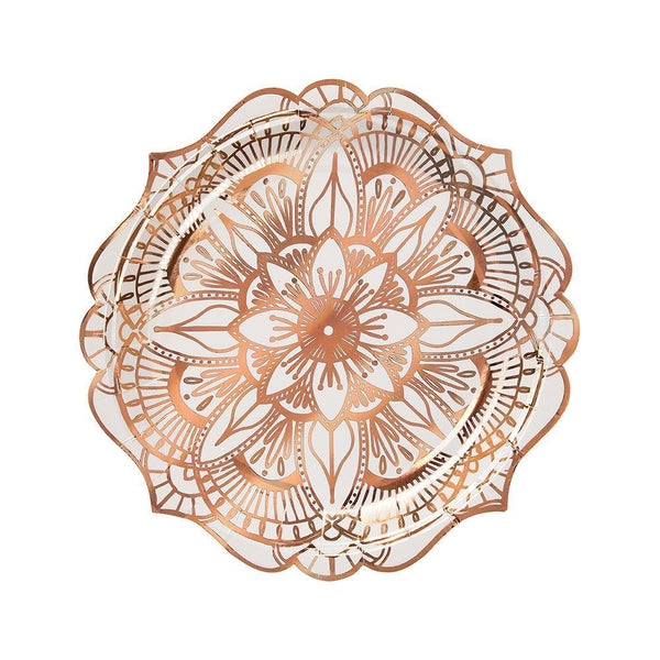 Mandala Plates (small) - IMAGINE Party Supplies