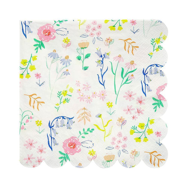 Wildflower Napkins (large) - IMAGINE Party Supplies
