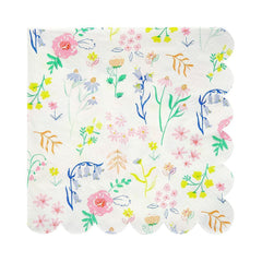 Wildflower Napkins (large)