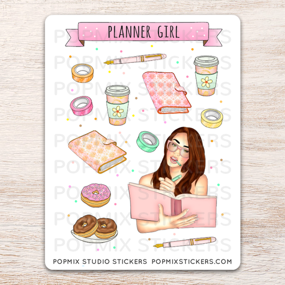 Planner Girl Deco Stickers
