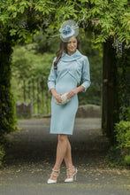 Melania Aqua Blue Dress & Bolero