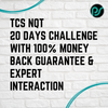 TCS NQT 2021 | 20 DAYS PLACEMENT CHALLENGE | 100% MONEY BACK GUARANTEE & EXPERT INTERACTION