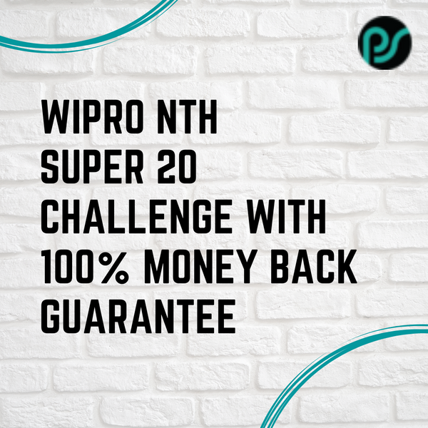 Wipro NTH Super 20 Challenge with Money Back Guarantee | Live Webinar Series