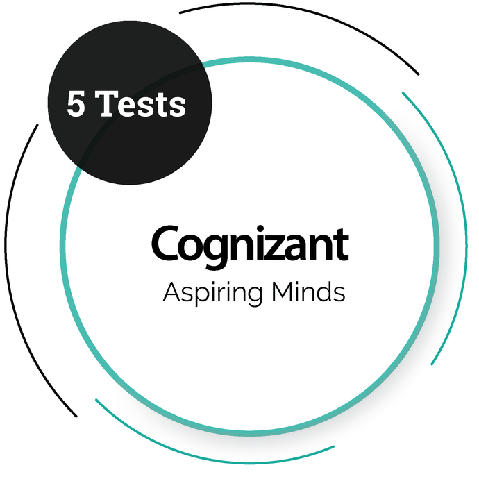 Cognizant (5 Tests) - Aspiring Minds IT Service Company - PlacementSeason