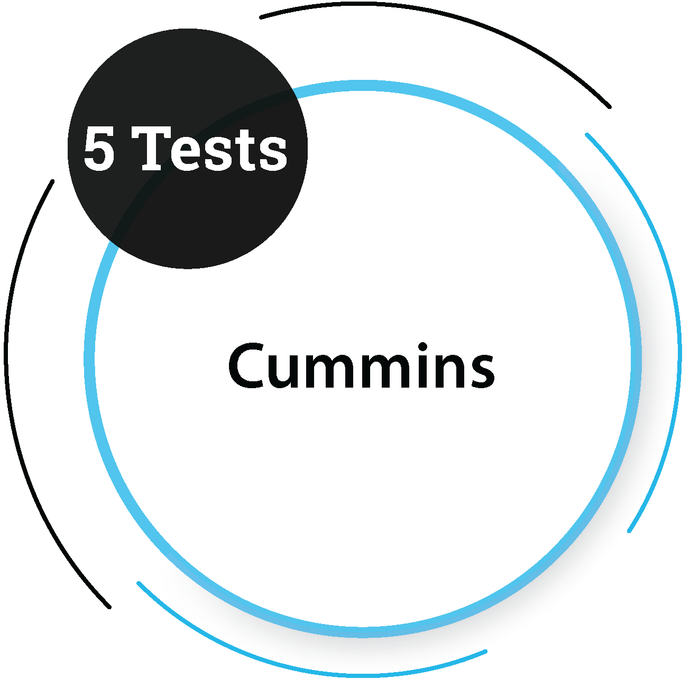 Cummins (5 Tests) Core Engineering Company - PlacementSeason
