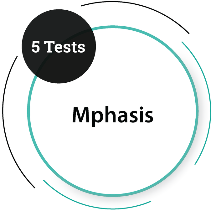 Mphasis (5 Tests) IT Service Company - PlacementSeason