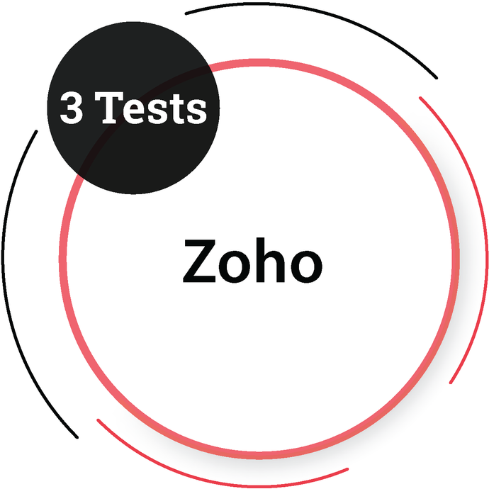 Zoho (3 Tests) IT Product Company - PlacementSeason