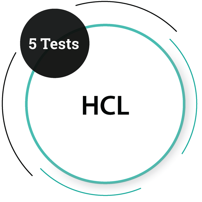 HCL (5 Tests)