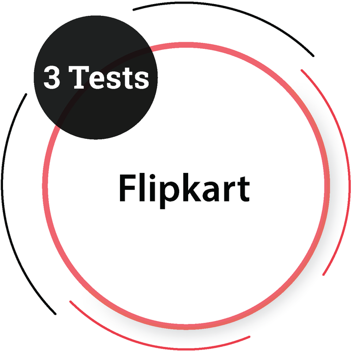 Flipkart (3 Tests) IT Product Company - PlacementSeason