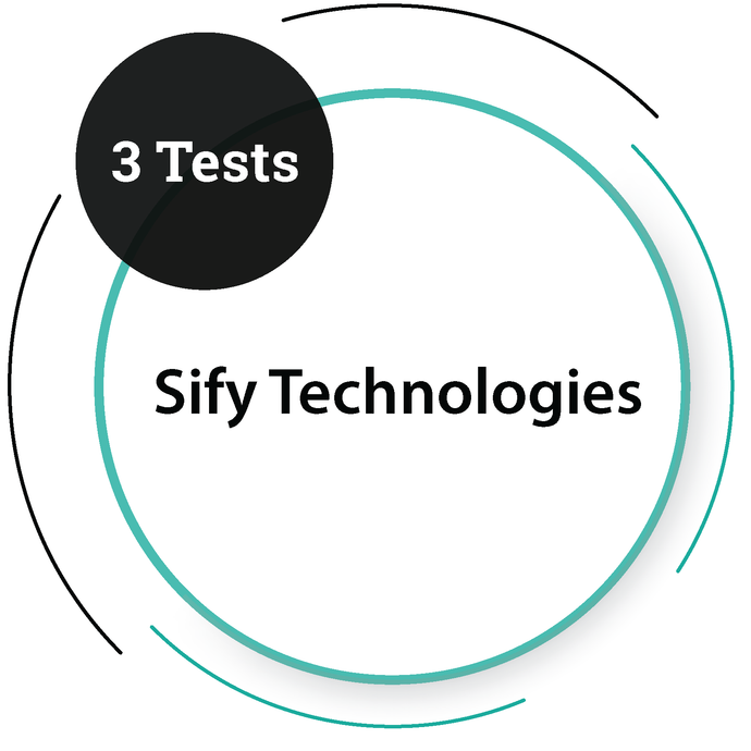 Sify Technologies (3 Tests) IT Service Company - PlacementSeason