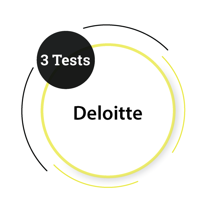 Deloitte (3 Tests) Management Company - PlacementSeason