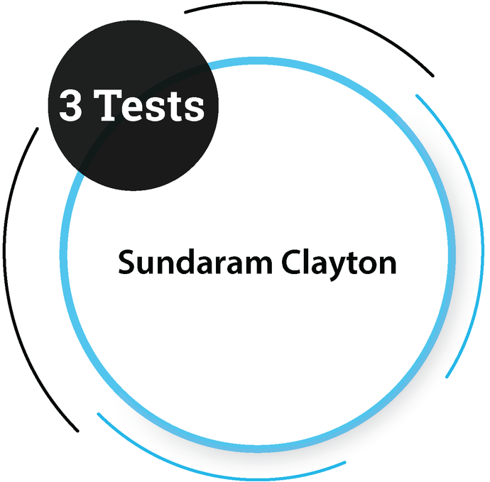Sundaram Clayton (3 Tests) Core Engineering Company - PlacementSeason