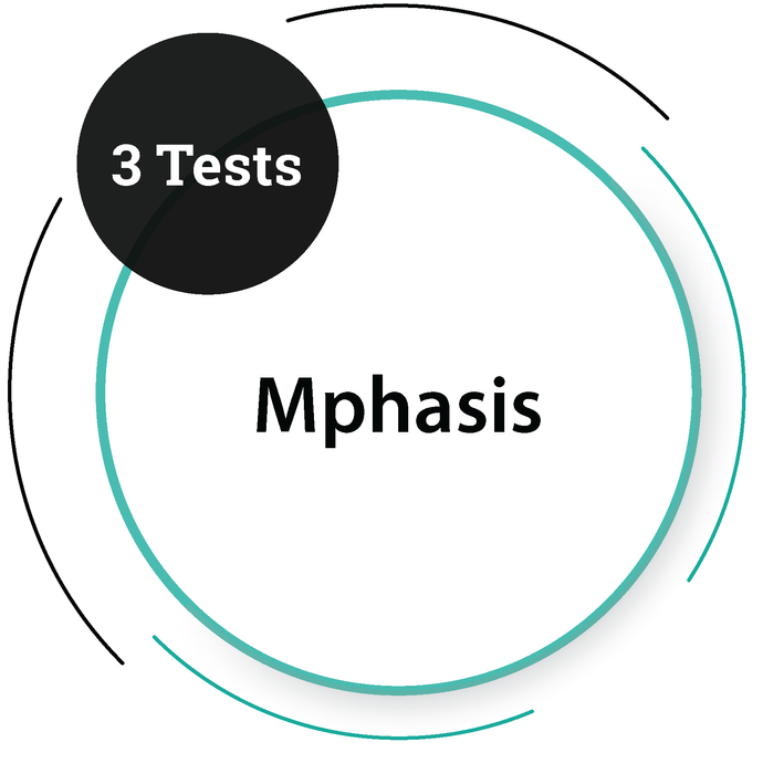Mphasis (3 Tests) IT Service Company - PlacementSeason