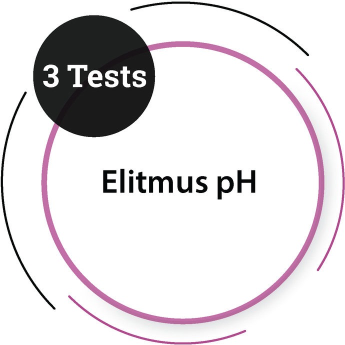 Elitmus pH (3 Tests) General Test - PlacementSeason