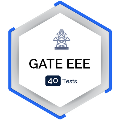 GATE EEE Mocktest (40 Tests)  - PlacementSeason