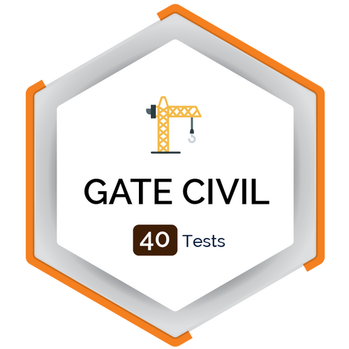 GATE CIVIL Mocktest (40 Tests)  - PlacementSeason