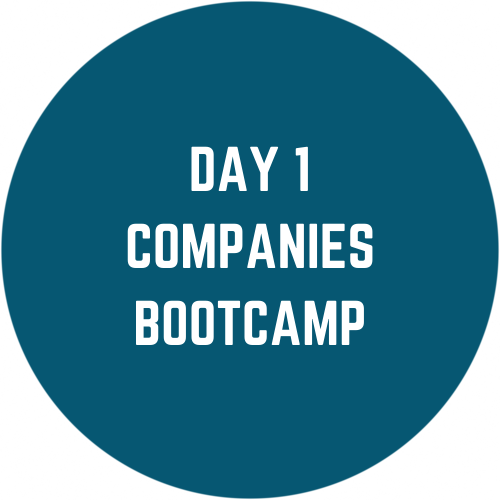 Day 1 Companies Bootcamp