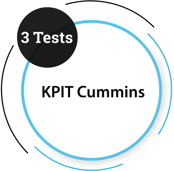 KPIT Cummins (3 Tests)