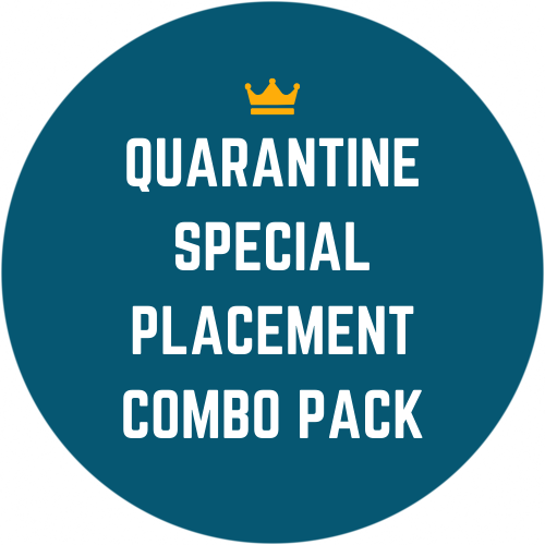 Quarantine Special Placement Combo Pack