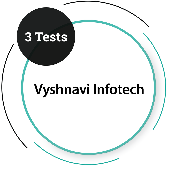 Vyshnavi Infotech - 3 Tests