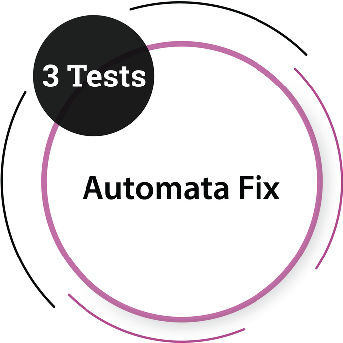 Automata Fix (3 Tests)