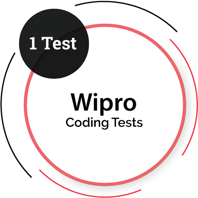 Wipro (1 Coding Test) IT Product Company - PlacementSeason
