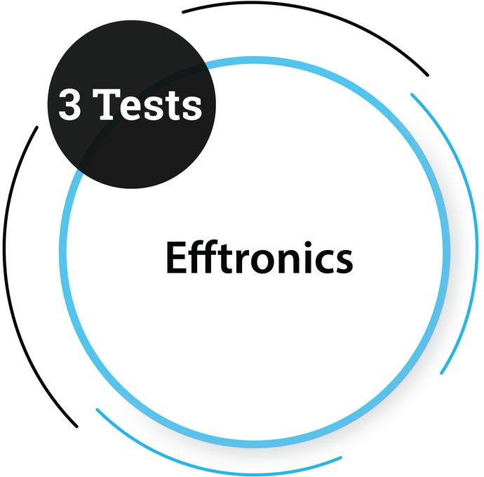 Efftronics - 3 Tests