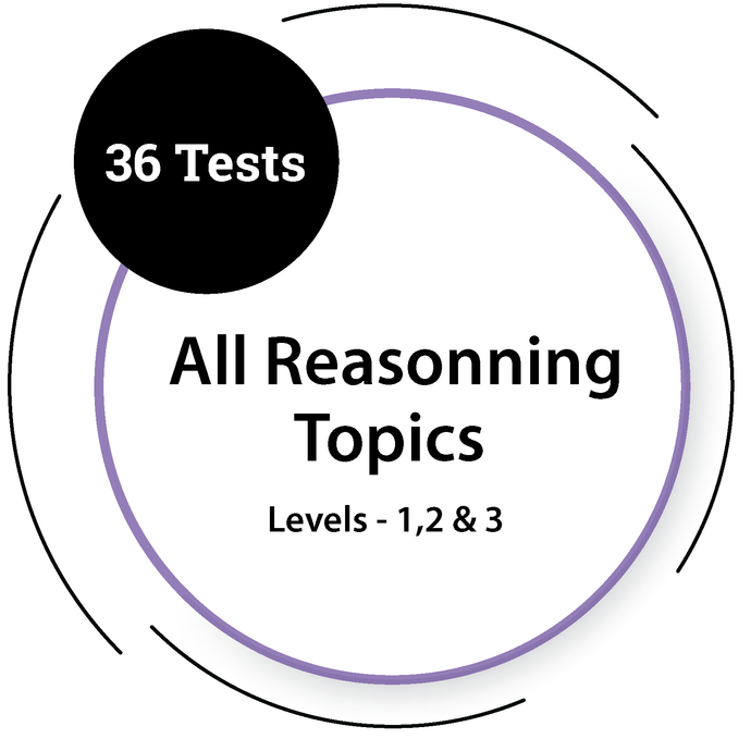 General Reasoning Tests - All Topics & All Levels General Test - PlacementSeason