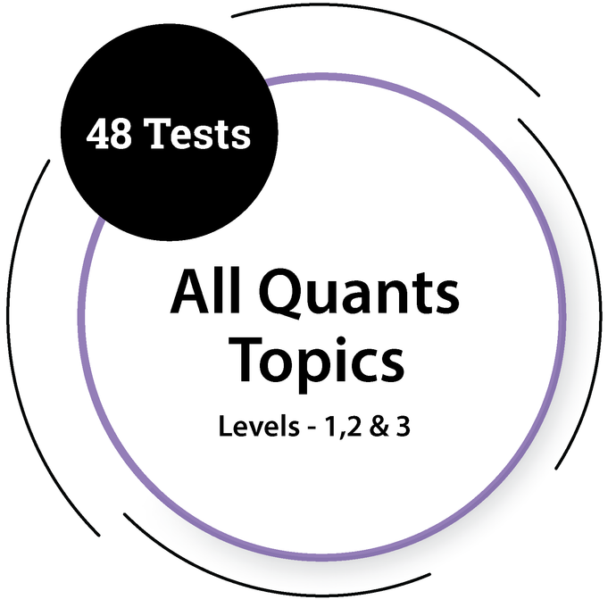 General Quants Tests - All Topics & All Levels General Test - PlacementSeason